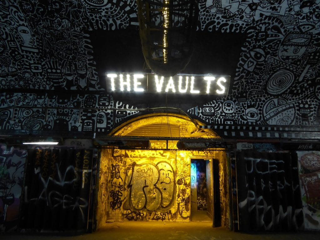 The Vaults is one of the best hidden gems in London.