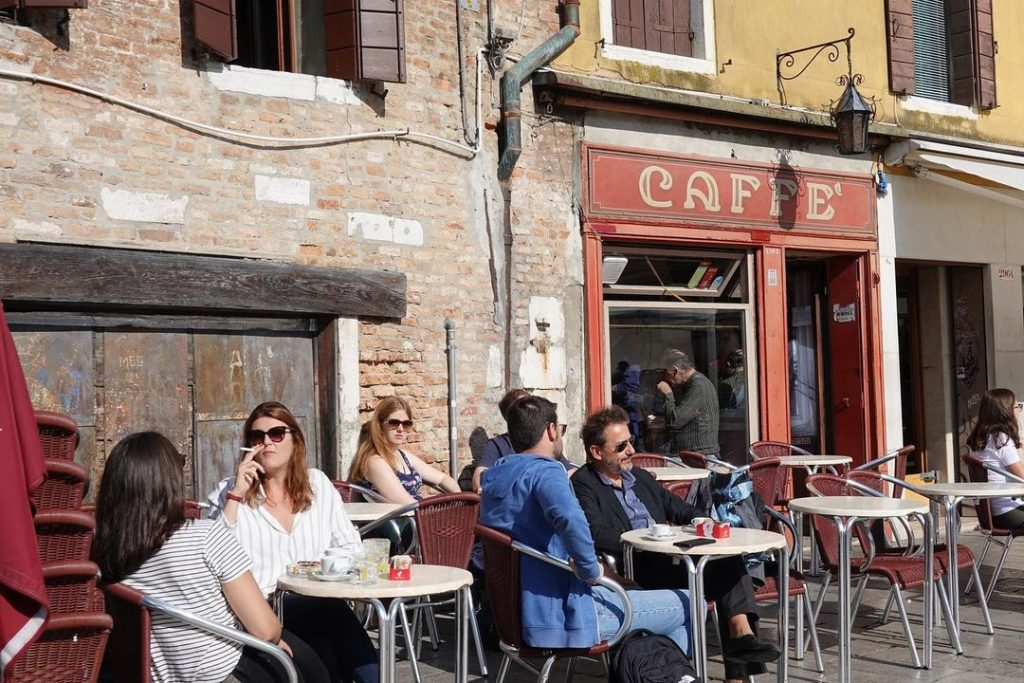 Caffè Rosso is a must visit.
