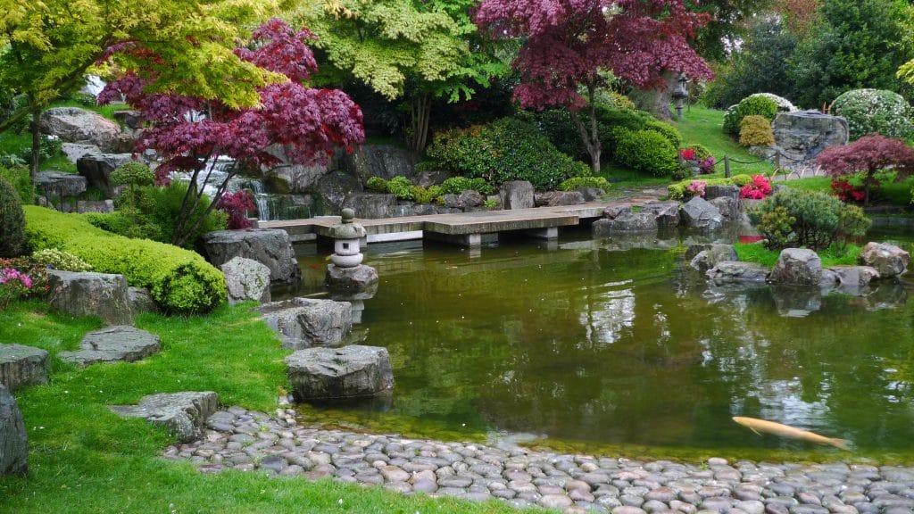 Kyoto Gardens is one of the best hidden gems in London.
