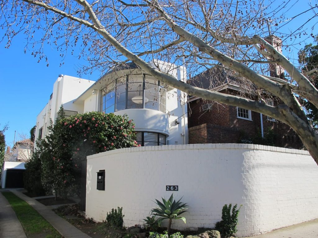 Art Deco, Rooftop Garden is one of the most beautiful Airbnbs in Melbourne.