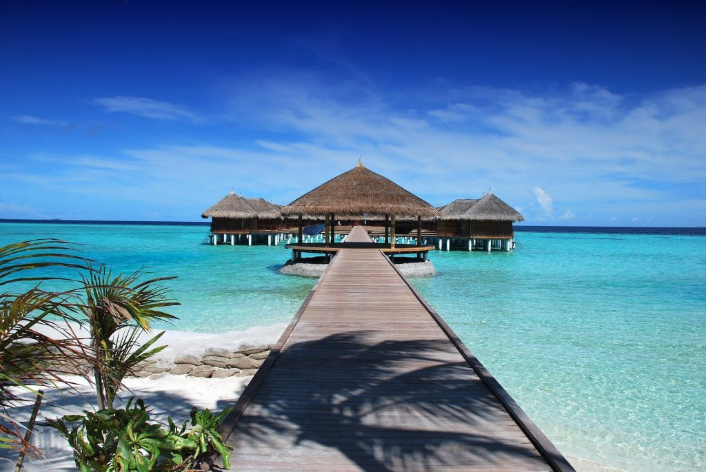 The Maldives is one of the best holidays for winter sun.
