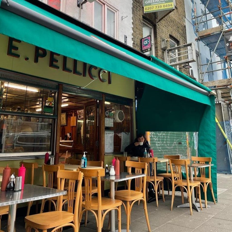 E Pellicci is one of the best places for brunch in East London.