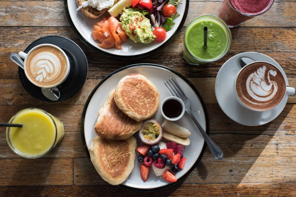 Grounded is one of the best places for brunch in East London.