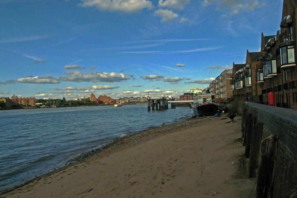 London's Hidden Beach is one of the best hidden gems in London.