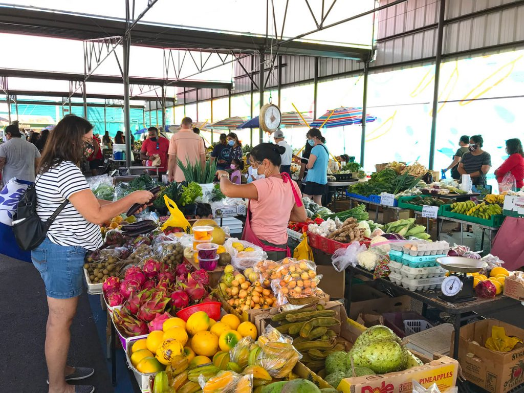 Hilo Farmers' Market is one of the best things to do in Hilo.