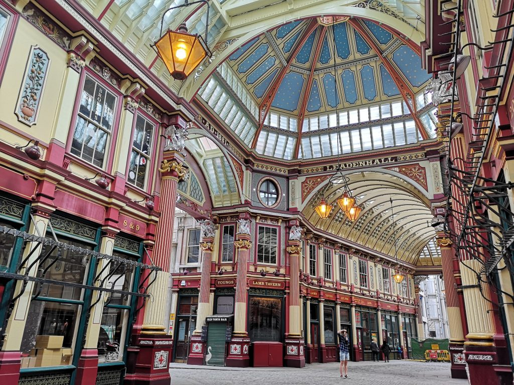 Leadenhall market is the oldest of its kind in the city.
