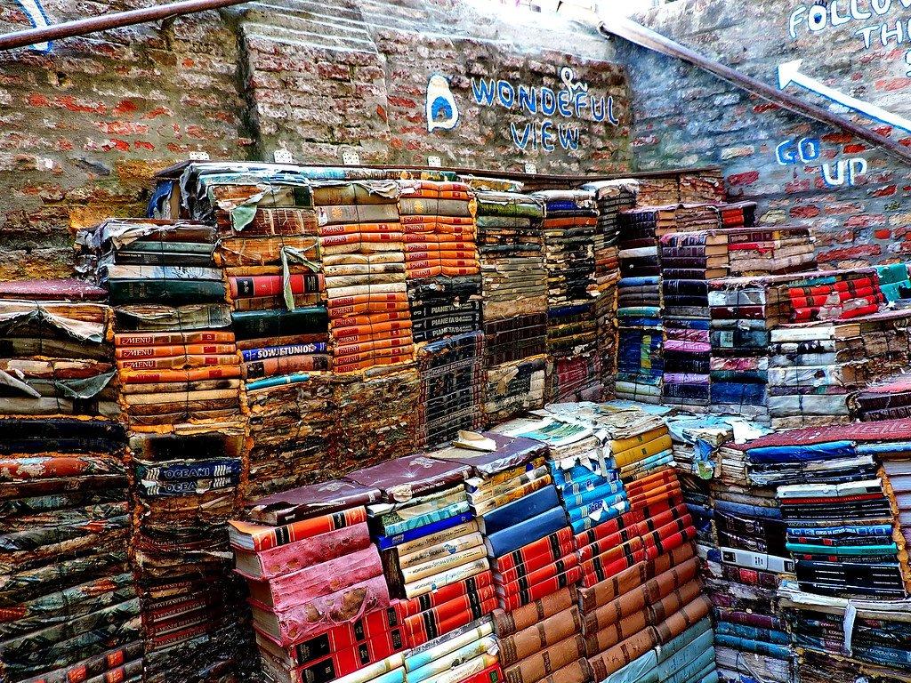 Liberia Acqua Alta is a must for book-lovers.