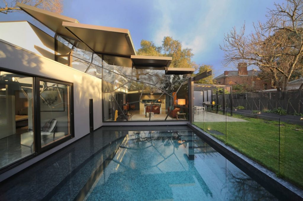 Luxury Architectural Residence tops our list of beautiful Airbnbs in Melbourne.