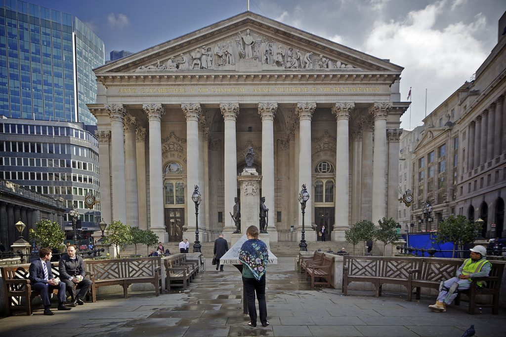 The Royal Exchange is one of the best hidden gems in London.