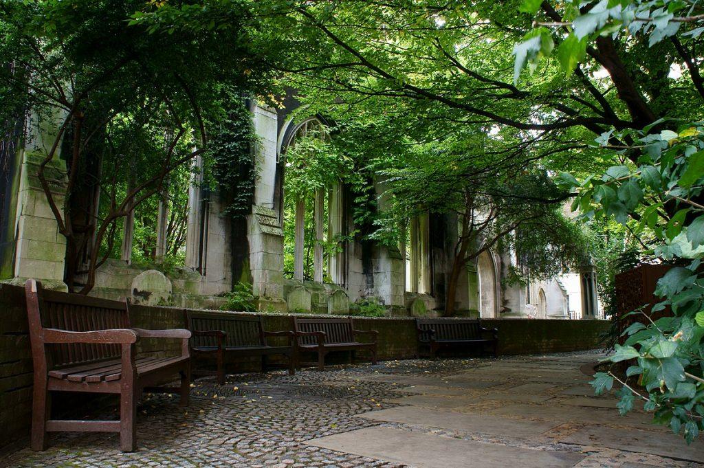 Saint Dunstan in the East is one of the best hidden gems in London.