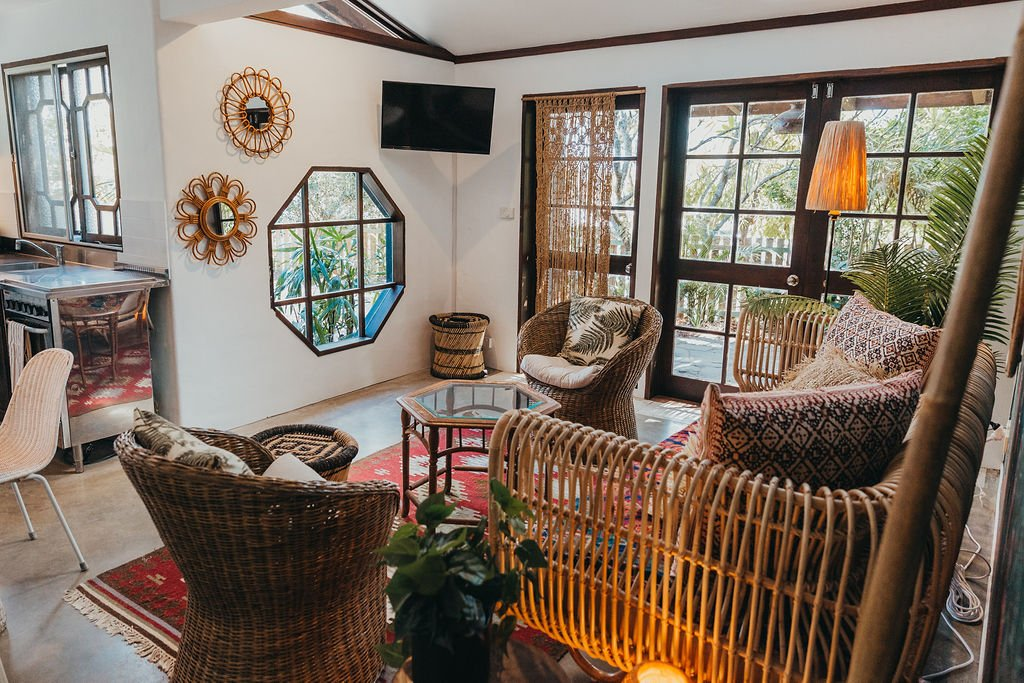 Book a night at the Bungalow.