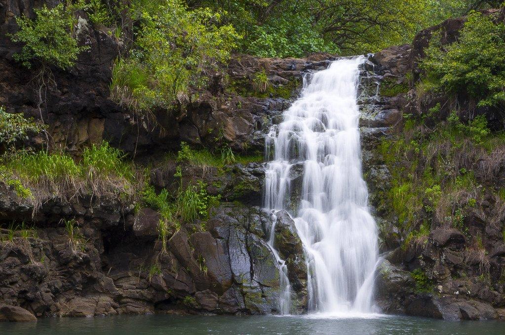 Waihi Falls tops our list of best waterfalls in Oahu.